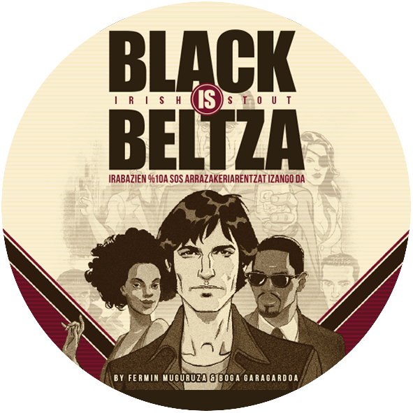 Cerveza Black is Beltza