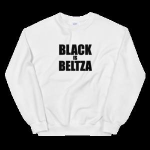 Sudadera Black is Beltza letras blanca